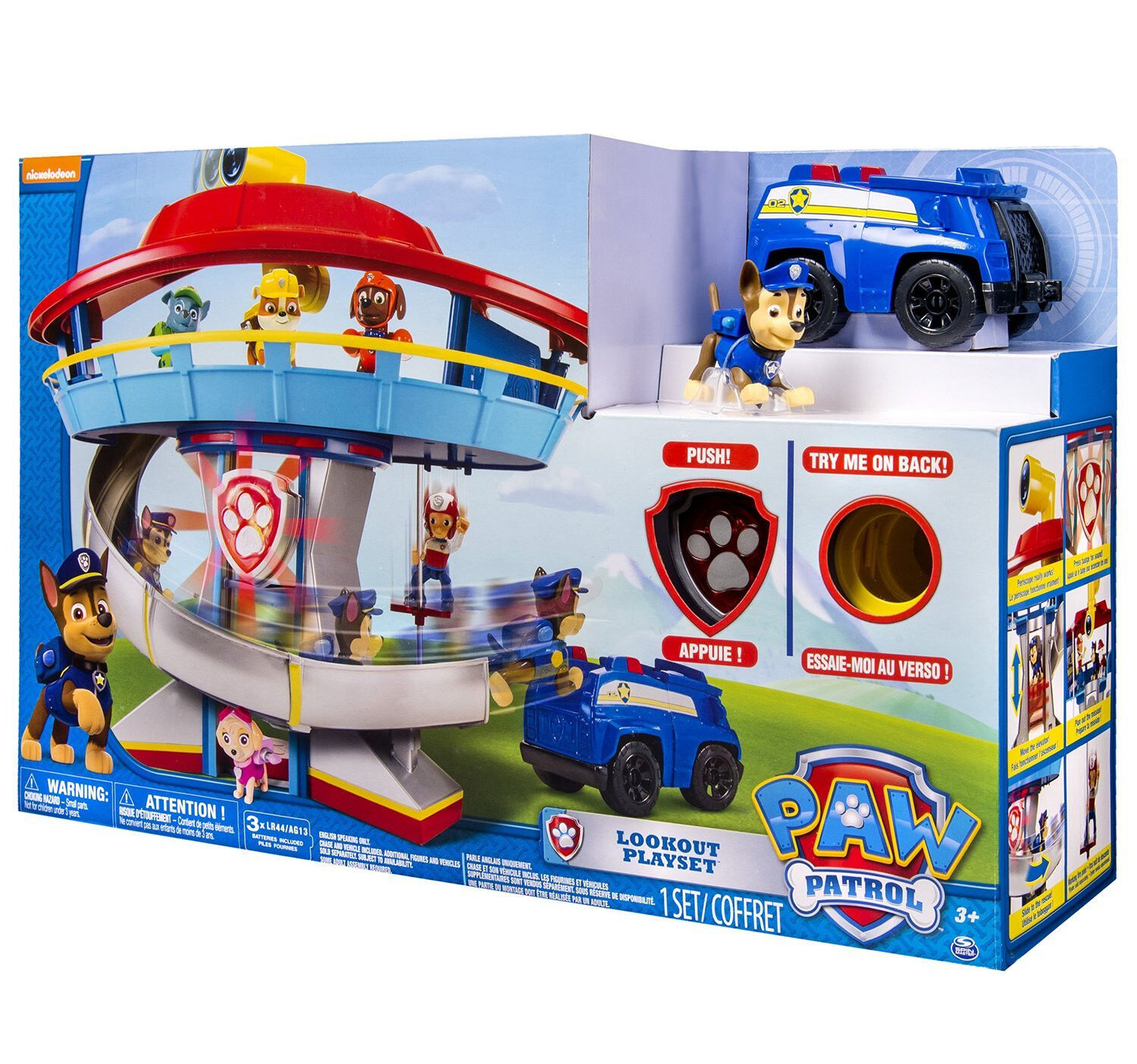Spin Master - 6022632 - Paw Patrol Lookout Lookout Lookout Headquarter - NEU OVP 7e2b1e