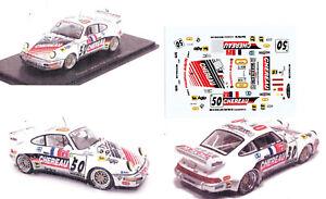Decals-1-43e-Porsche-911-GT2-Chereau-Larbre-n-50-Le-Mans-1994