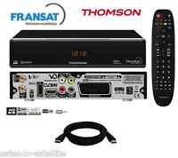 Récepteur Satellite Thomson Hd + Carte Fransat À Vie Décodeur Tv Sat Tnt