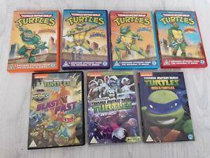 RARE JOBLOT BUNDLE LOT 7 X TEENAGE MUTANT NINJA TURTLES TMNT DVD COMPLETE SERIES