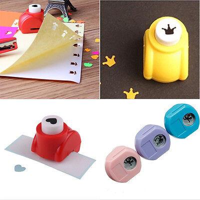 1x Mini Hand Paper Shaper Scrapbook Tags Cards Making Craft DIY Punch Cutter HOT
