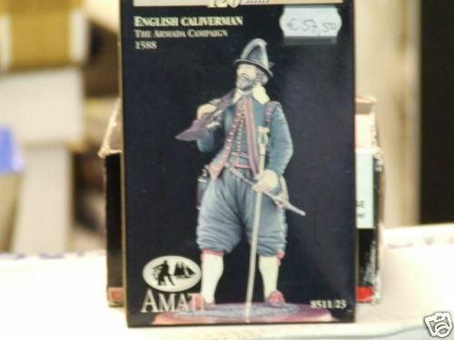 CALIVERMAN ANGLAIS1588 THE ARMADA CAMPAIGN - AMATI120mm Référence 8511 23