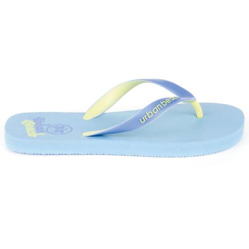 DAMEN URBAN BEACH Badeschuhe Zehentrenner  GRÖßE 35-42  Ladiescorp Blue Nr.38