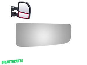 Fits 17-18 Nissan Armada Right Passenger Convex Mirror Glass Lens w//Silicone USA