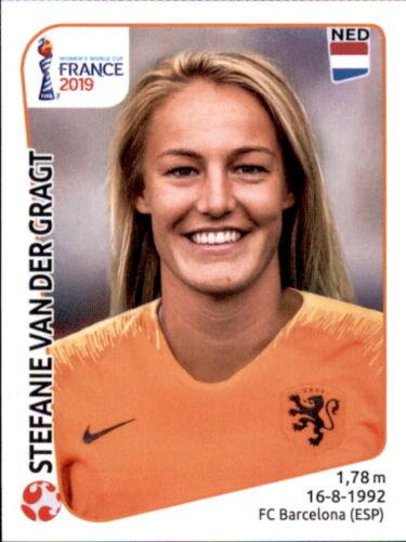Niederlande Panini Frauen WM 2019 Sticker 393 Dominique Bloodworth