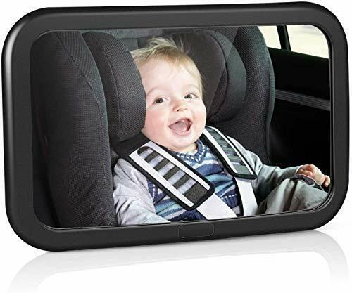 Miroir Voiture Bebe Retroviseur Securite Auto Siege Arriere Rotation 360 Degres