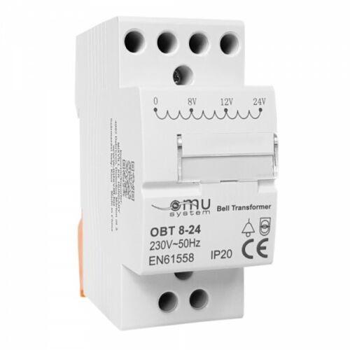 Xbs Transformateur Sonnette sonnerie transformateur Transformateur transformateur 230 V à 8 V 12 V 24 V 539