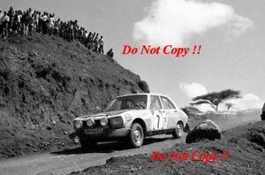 Ove Andersson Jean Todt Peugeot 504 Ti Safari Rally 1973