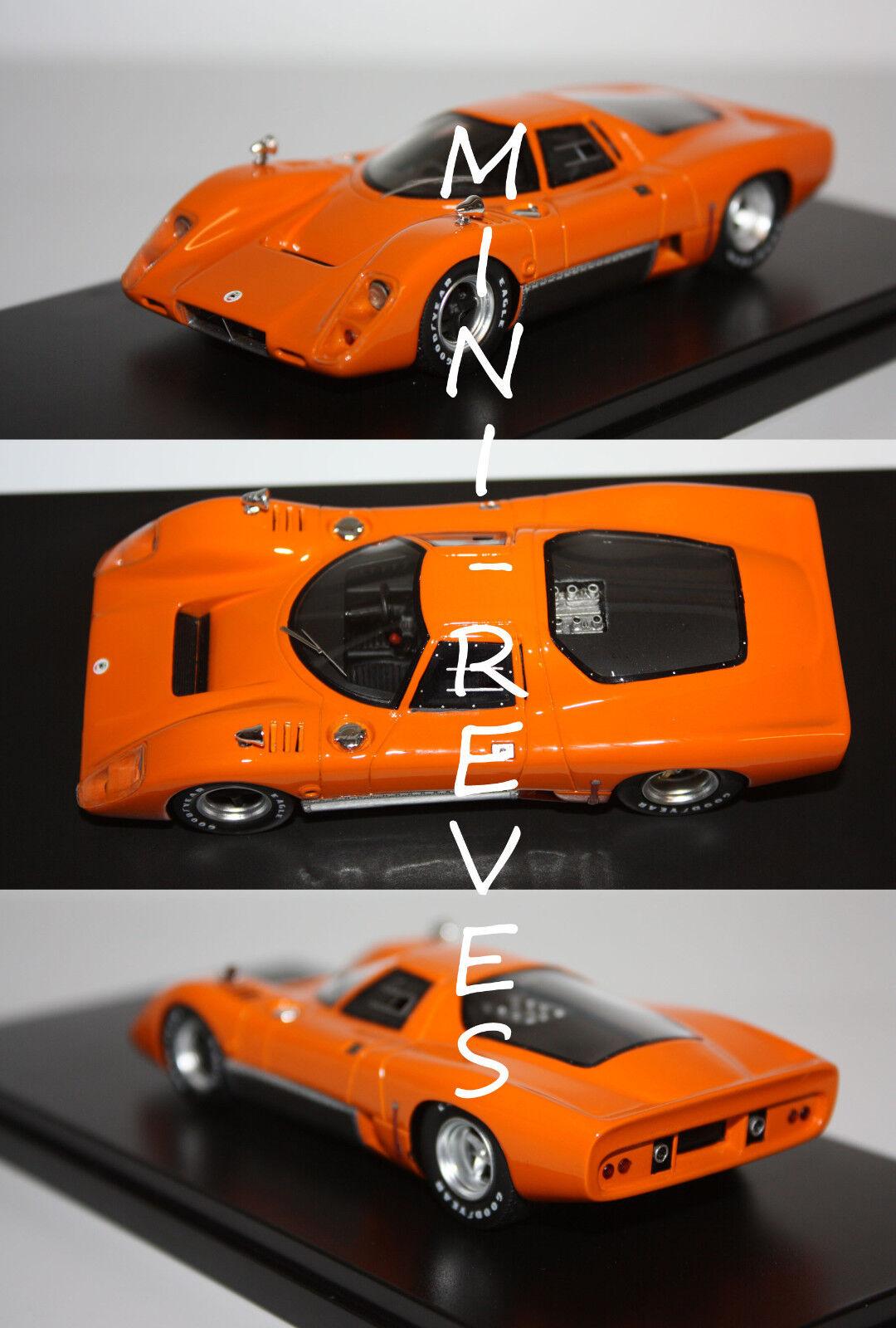 PremiumX McLaren M6B GT 1969 Orange 1 43 PR0257