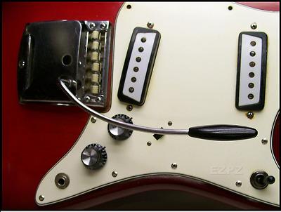 Japanese Tremolo Arm for Vintage Teisco Kawai   EZPZ GUITAR PARTS Silvertone