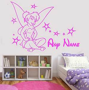 Personalised Tinkerbell Wall Art Disney Fairy Princess Girl Bedroom .  sc 1 st  Padis & Funky Tinkerbell Wall Ideas - Interior Design Ideas u0026 Home ...