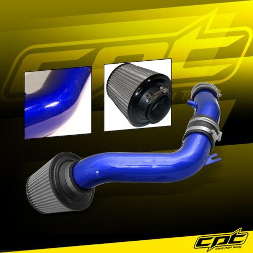 Stainless Steel Filter For 02-06 Sentra Spec-V SE-R 2.5L Blue Cold Air Intake