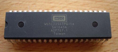 5 x Western Design Center W65C22S6TPG-14 via CMD//ROCKWELL