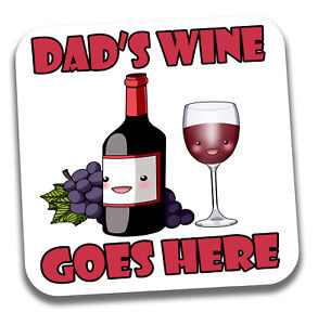 Dad-039-s-Drink-Coaster-Birthday-Fathers-Day-Christmas-Fun-Gift-For-Your-Dad