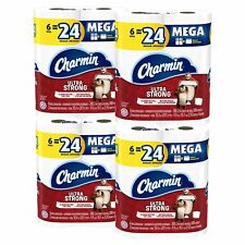 Charmin Ultra Strong Toilet Paper - Mega Roll, 24 Count