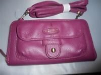 Buxton Ladies All In One Wallet On A String,purple