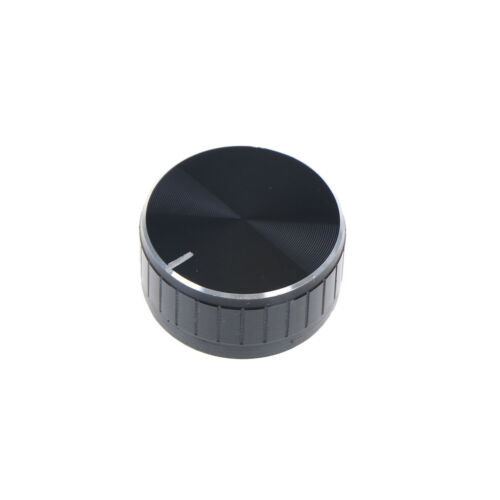 1x 40*17mm Volume Control Rotary Knobs Knurled Shaft Potentiometer Durable FO