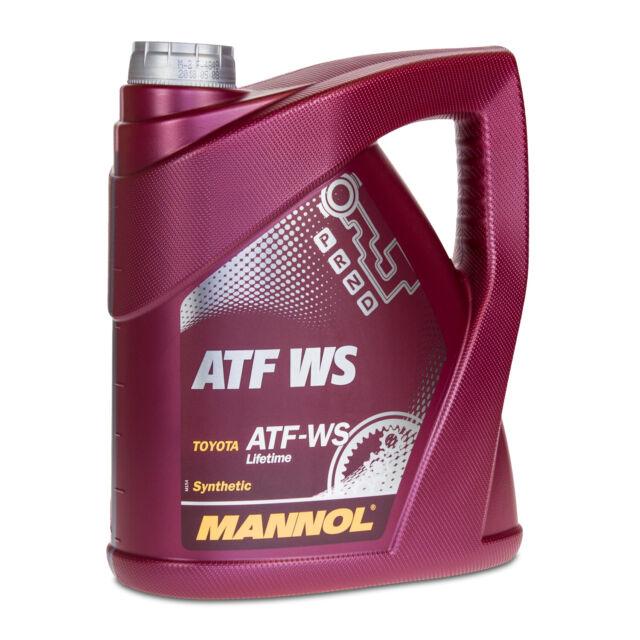 4 (1x4) Litro Mannol Atf Ws Automático Aceite Motor para Aisin Aviso, Toyota