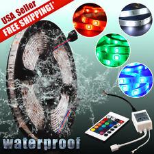 Wireless 16.4ft RGB LED Strip Light Kit for Marine Boat Deck Interior Lighting