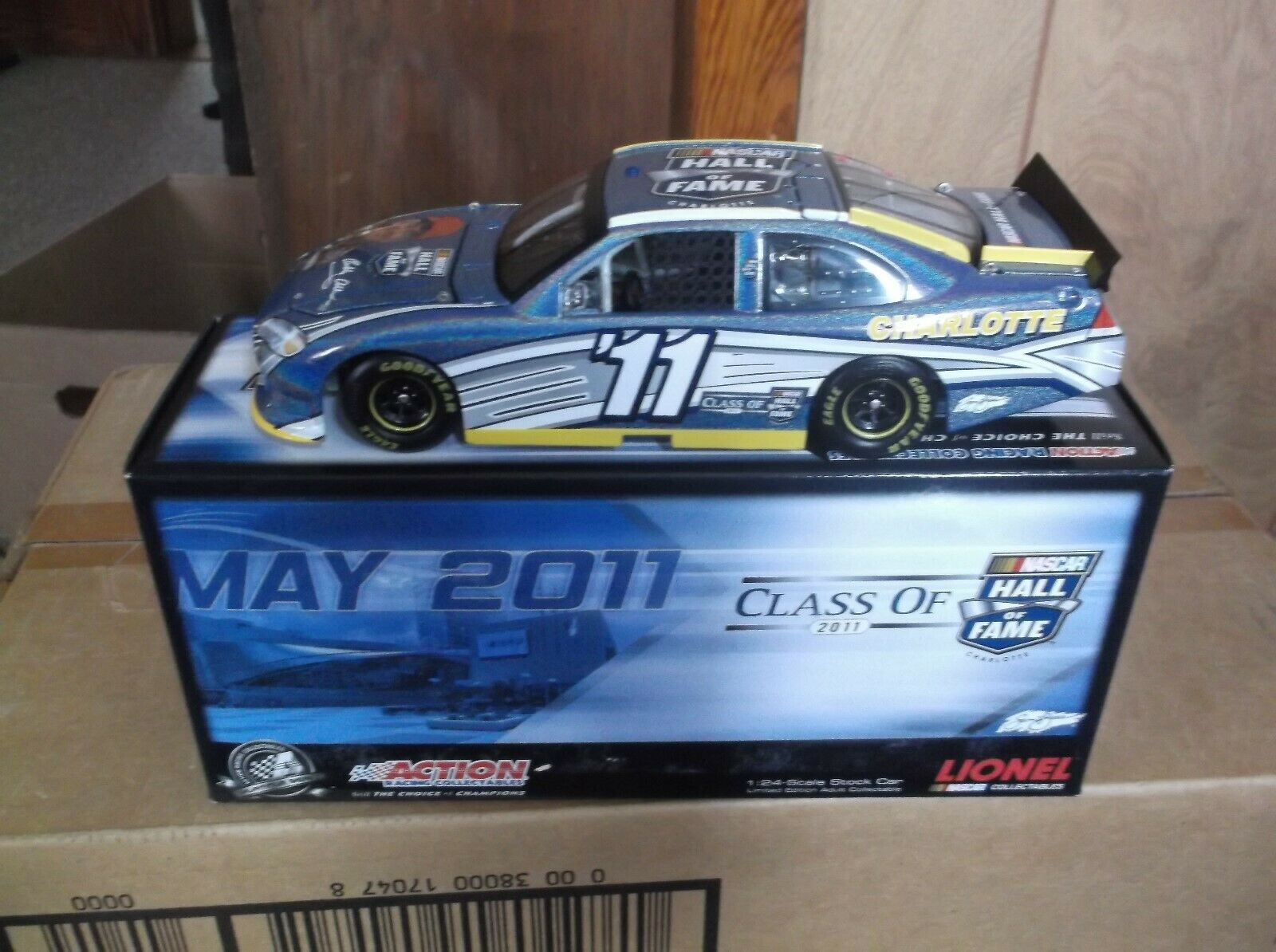 RARE 2011 BOBBY ALLISON HALL OF FAME FLASHCOAT COLOR 1 24TH SCALE DIECAST 540 89