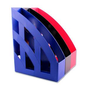 stehsammler herlitz a4 kunststoff rot blau grau schwarz sammelbox neu ebay. Black Bedroom Furniture Sets. Home Design Ideas