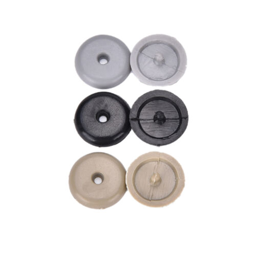 2X  Plastic Universal Seat Belt Holder  Stopper Buckle Stop Button Fastener VH