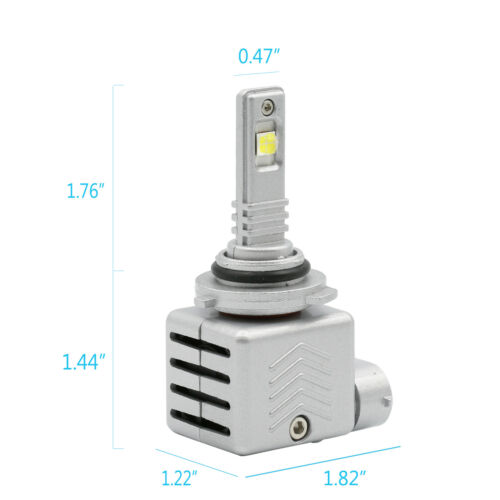 Syneticusa:9005 CREE-XHP50 LED Headlight Bulb Conversion Kit Hi-Beam 6000K White