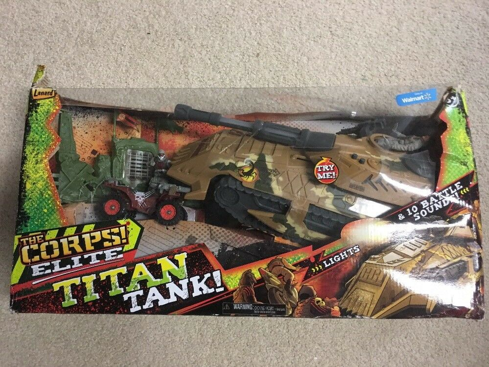 The Corps Elite L Battle Tank
