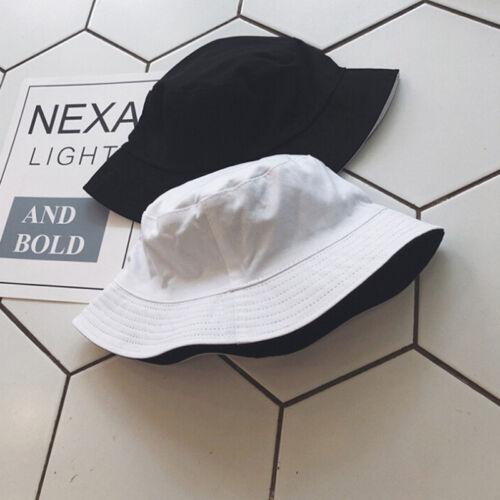 Unisex Cotton Men Women Bucket Hat Fishing Fisher Beach Sun Cap Hats Fashion EF