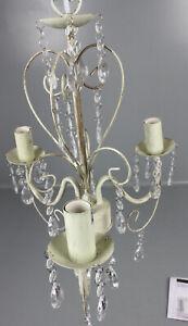 MiniSun-Kronleuchter-Lille-3-flg-Haengelampe-Lampe-Kristalle-Antik-Stil-F2-80732