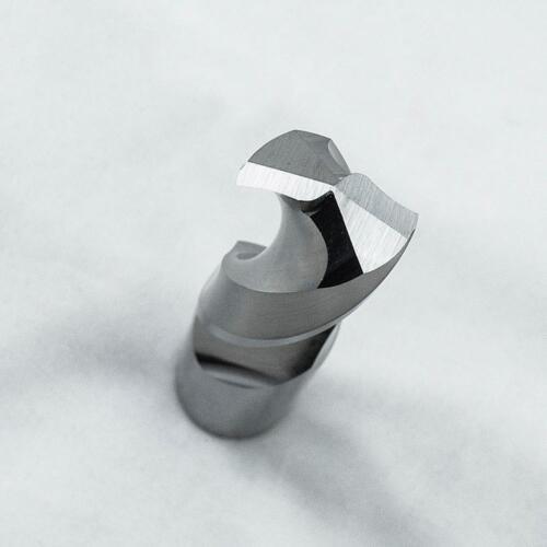 KLOT HRC50 Solid Carbide Drill Bit 14.1mm-20mm 2-Flute Stub Straight Shank Twist