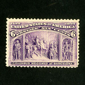 US-Stamps-235-VF-Fresh-OG-NH-Scott-Value-140-00