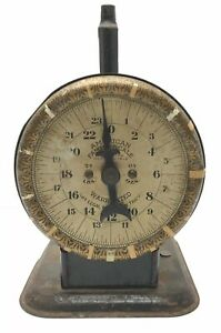 Antique-Pat-1912-American-Cutlery-Co-National-Family-Household-Scale-24-lb