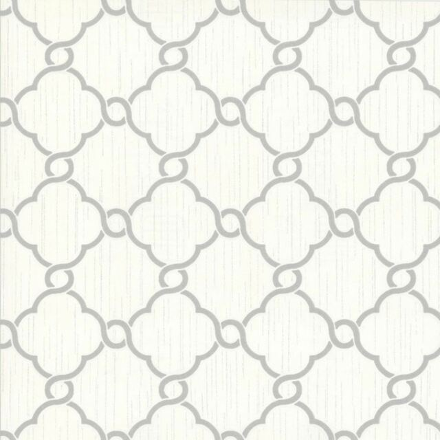 OPAL GEOMETRIC GLITTER WALLPAPER BEIGE WHITE P+S 02493-60