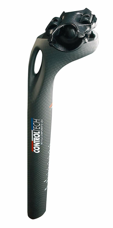 Controltech Wepost carbon fiber seatpost - 31.6 x 300mm - 25mm offset.