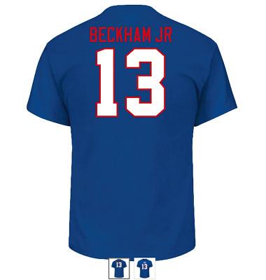 on sale 0b473 5a28a W@W! NWT New York Giants Men's Odell Beckham Jr. Jersey T-Shirt | eBay