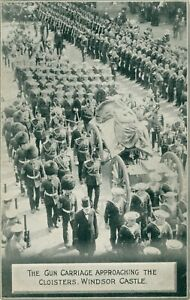 Funeral of King Edward VII, May 20th, 1910 [6 postcard set] (Photochrom Co.Ltd)
