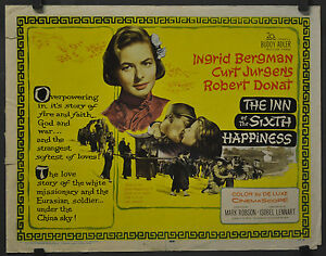 INN-OF-THE-SIXTH-HAPPINESS-1959-ORIG-22X28-MOVIE-POSTER-INGRID-BERGMAN