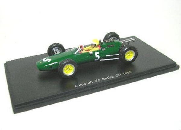 Lotus 25 No. 5 T Taylor formule 1 1963