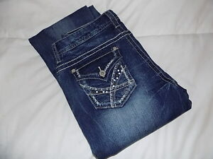 NEW-Women-s-rue21-Jeans-Size-5-6-Reg-Low-Rise-Boot-Cut-Lot-3