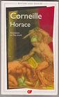 Horace - Pierre Corneille. GF Flammarion avec Dossier +chrono + biblio+lexique