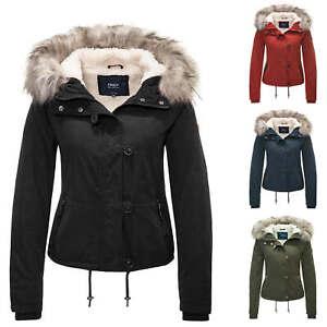 ONLY-Femme-Parka-Veste-D-039-hiver-Blouson-Capuche-Veste-Manteau-Court-Mix-SALE