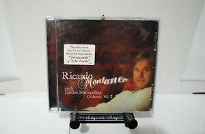 Ricardo-Montaner-Con-la-London-Metropolitan-Orchestra-Vol-2-NEW-CD-FREE-SHIP