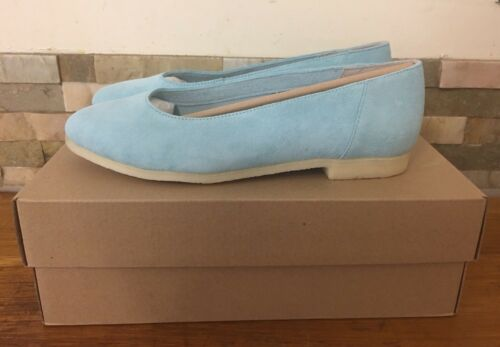 Clarks Reino 5 Unido Bailarina Tamaño clara Ffion eu 39 azul Ivy 5 qOaBaw6E