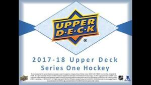 2017-18-Upper-Deck-Series-One-Hockey-Cards-Pick-From-List-Includes-Young-Guns