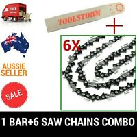16 Bar & 6chains 3/8lp 050 57dl Gardenline Gcs2000 Gpcs46z And Aldi Gardenline