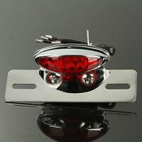 Motorcycle License Plate Tail Light Fit Honda Shadow Aero Spirit 750 Vt Vtx 1300