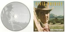"ELVIS PRESLEY CD ""DOUBLE FEATURES SAMPLER"" 2001 UK PROMO TODAY C'MON EVERYBODY"