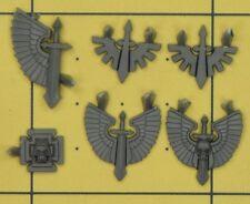 Warhammer 40K Space Marines Dark Angels Ravenwing Iconography (E)
