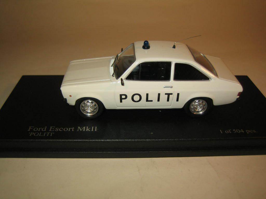 Trofeu SMNC027 Ford Escort MkII Politi The Nordic Collection Collection Collection 1 43 MIB c013cd